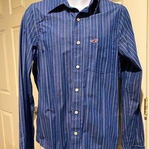 2/$20 Hollister relax fit Men shirt M